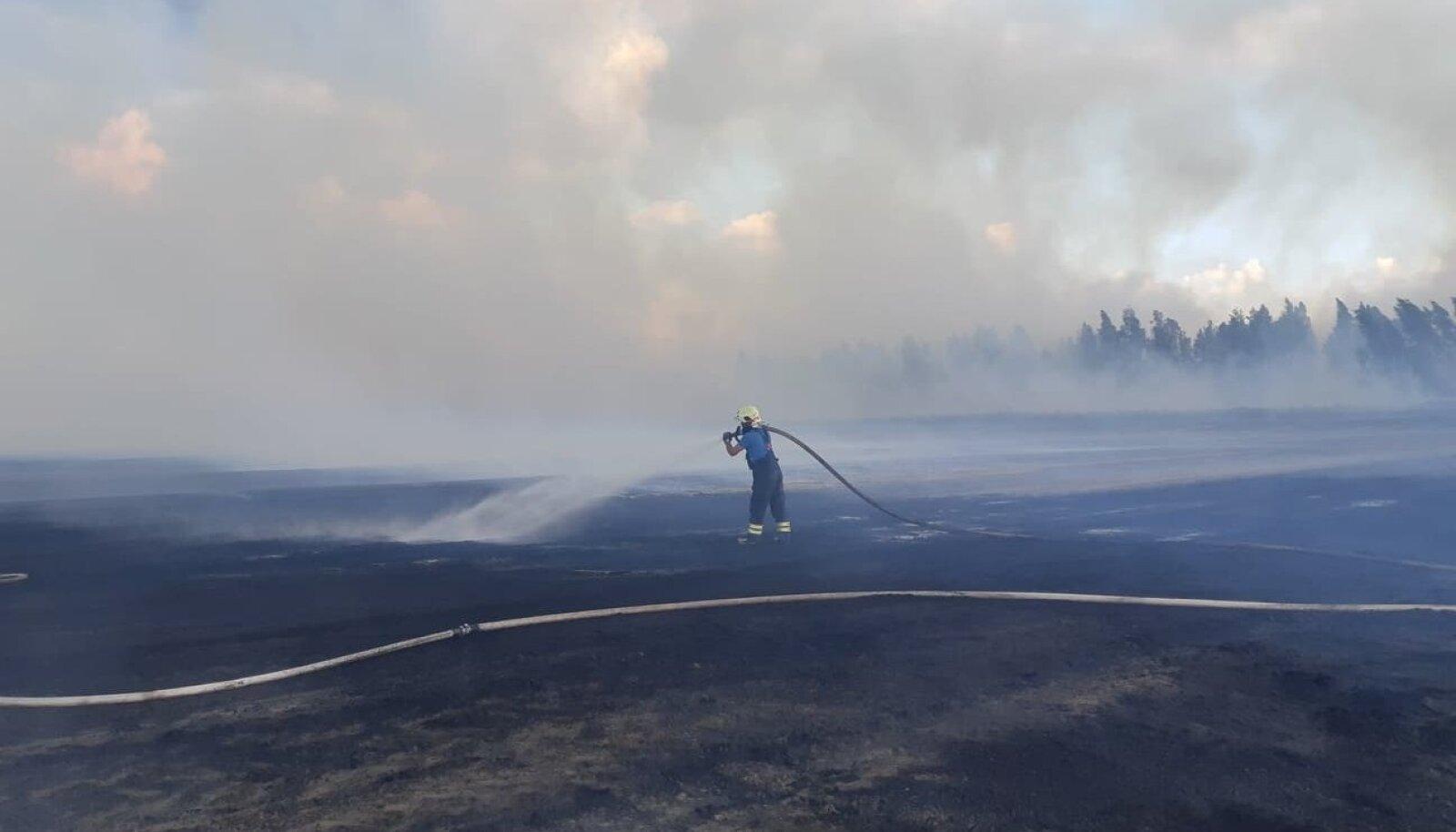 Teisipäeval süttis tulekahju Pärnumaal Lavassaare turbatootmisalal ja levis ligi 30 hektarile, enne kui päästjad sellele piiri suutsid panna.