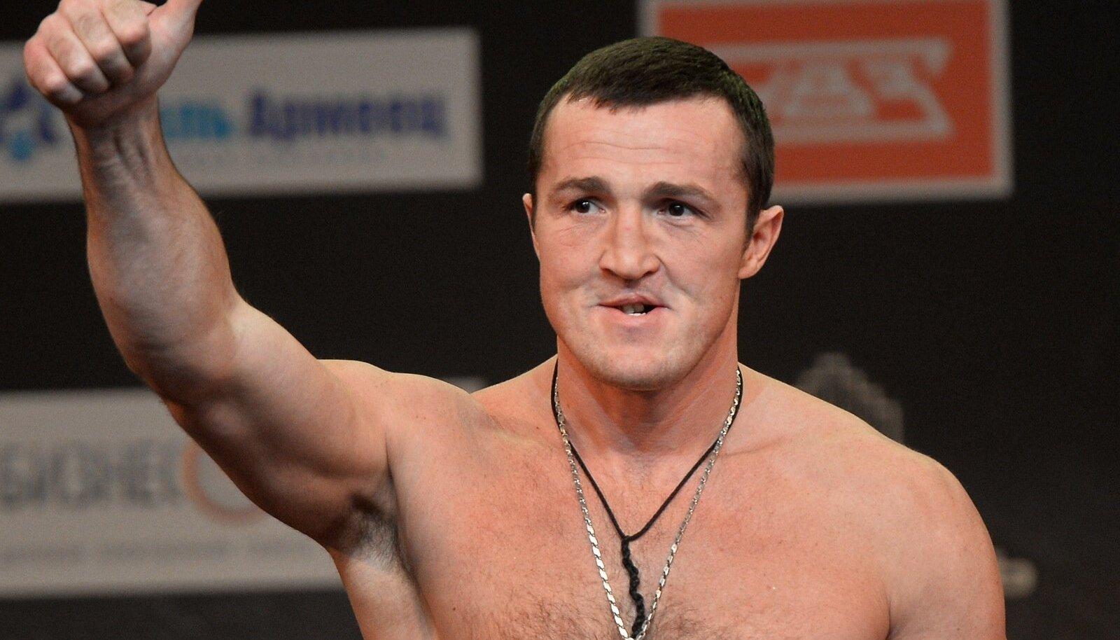 Boxing. Official weigh-ins of Boxing Show in Kazan
