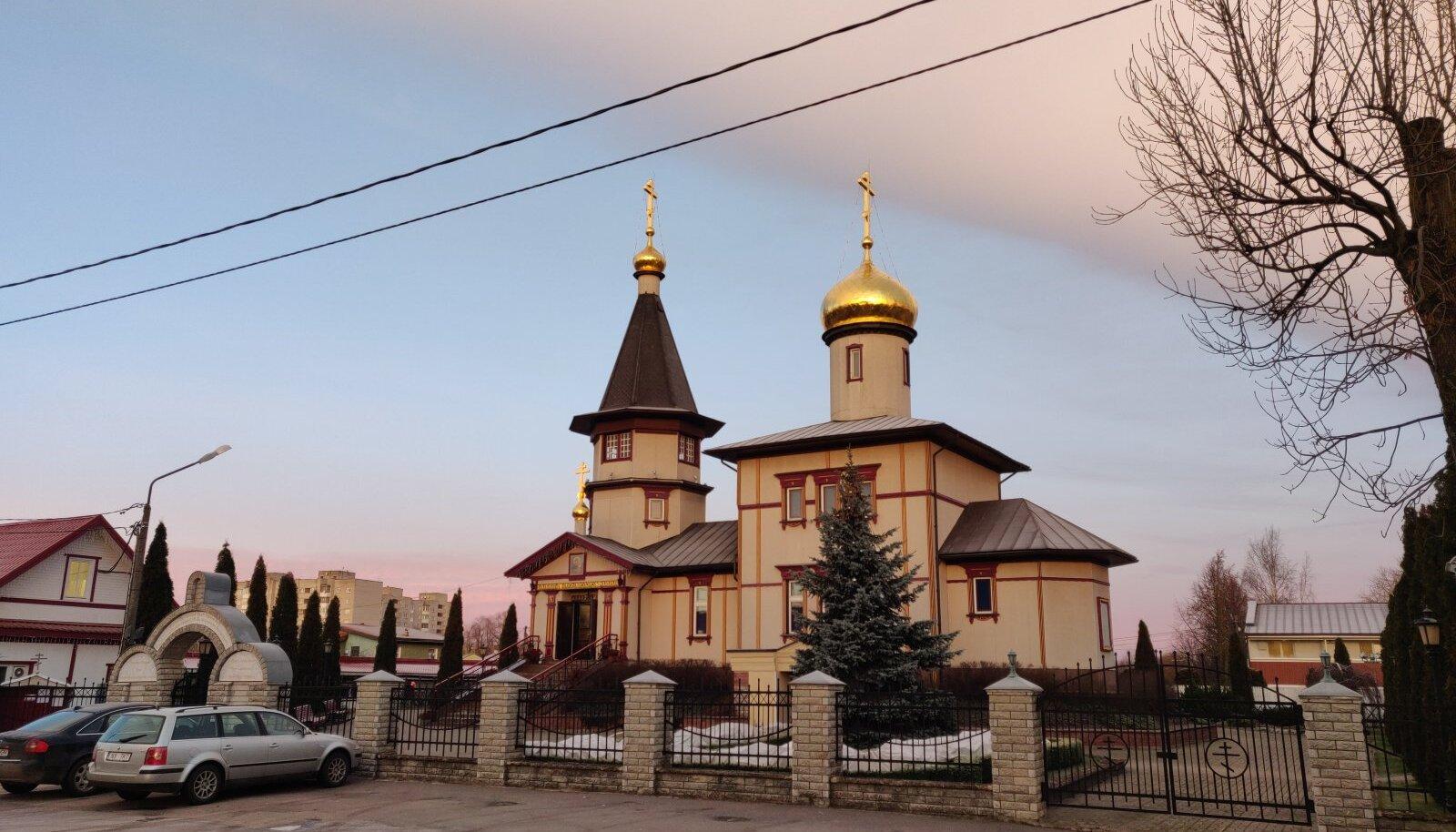 Храм нарвской иноны Божие матери, из которого была похищена чаша
