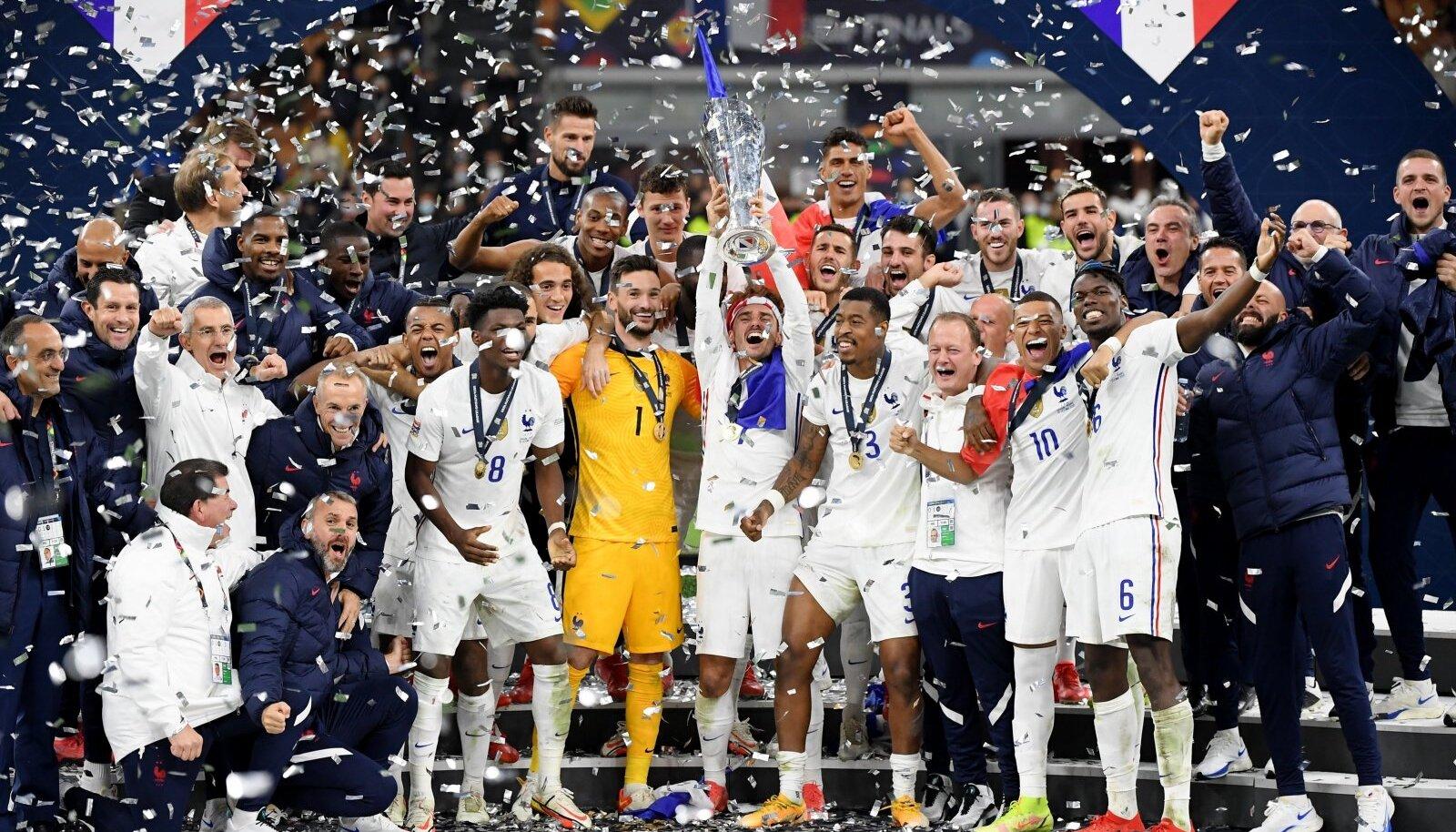 Prantsusmaa krooniti Rahvuste liiga võitjaks.