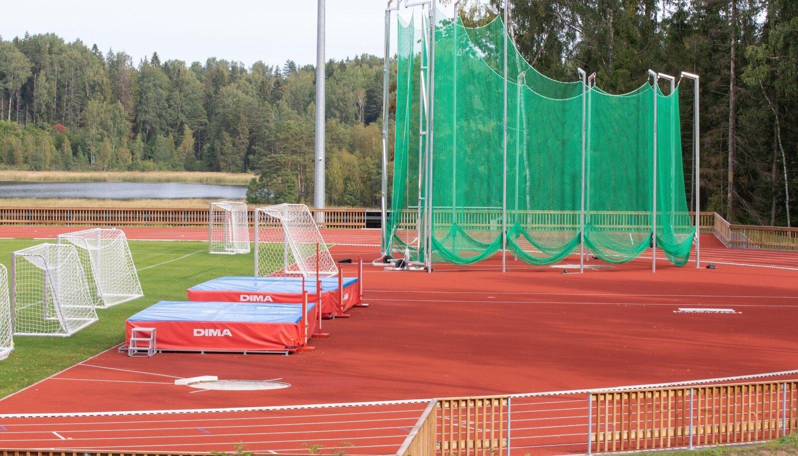 Kääriku spordibaasi kergejõustikustaadion.