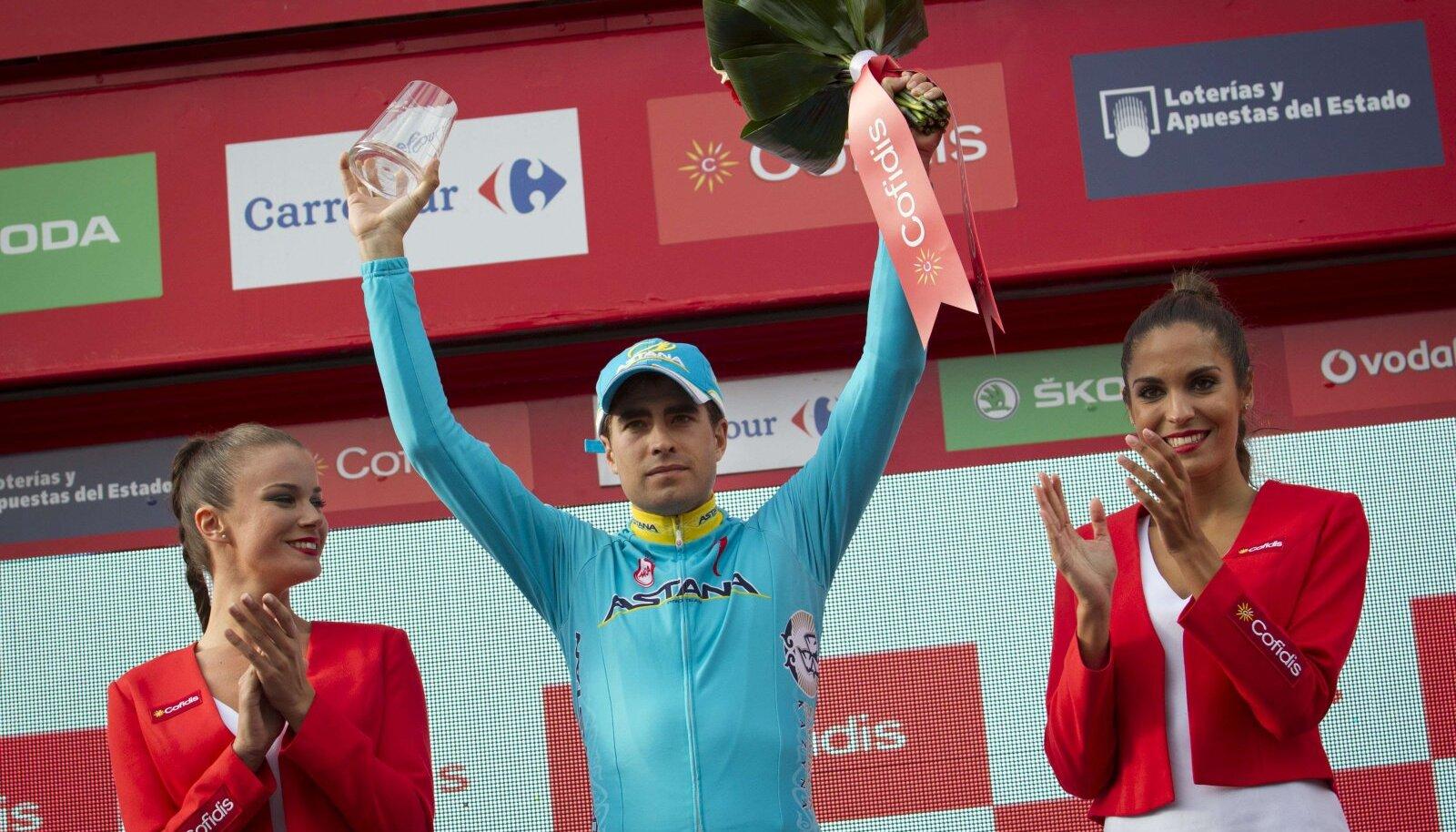 Mikel Landa võitis Vueltal kõige raskema, 11. etapi.