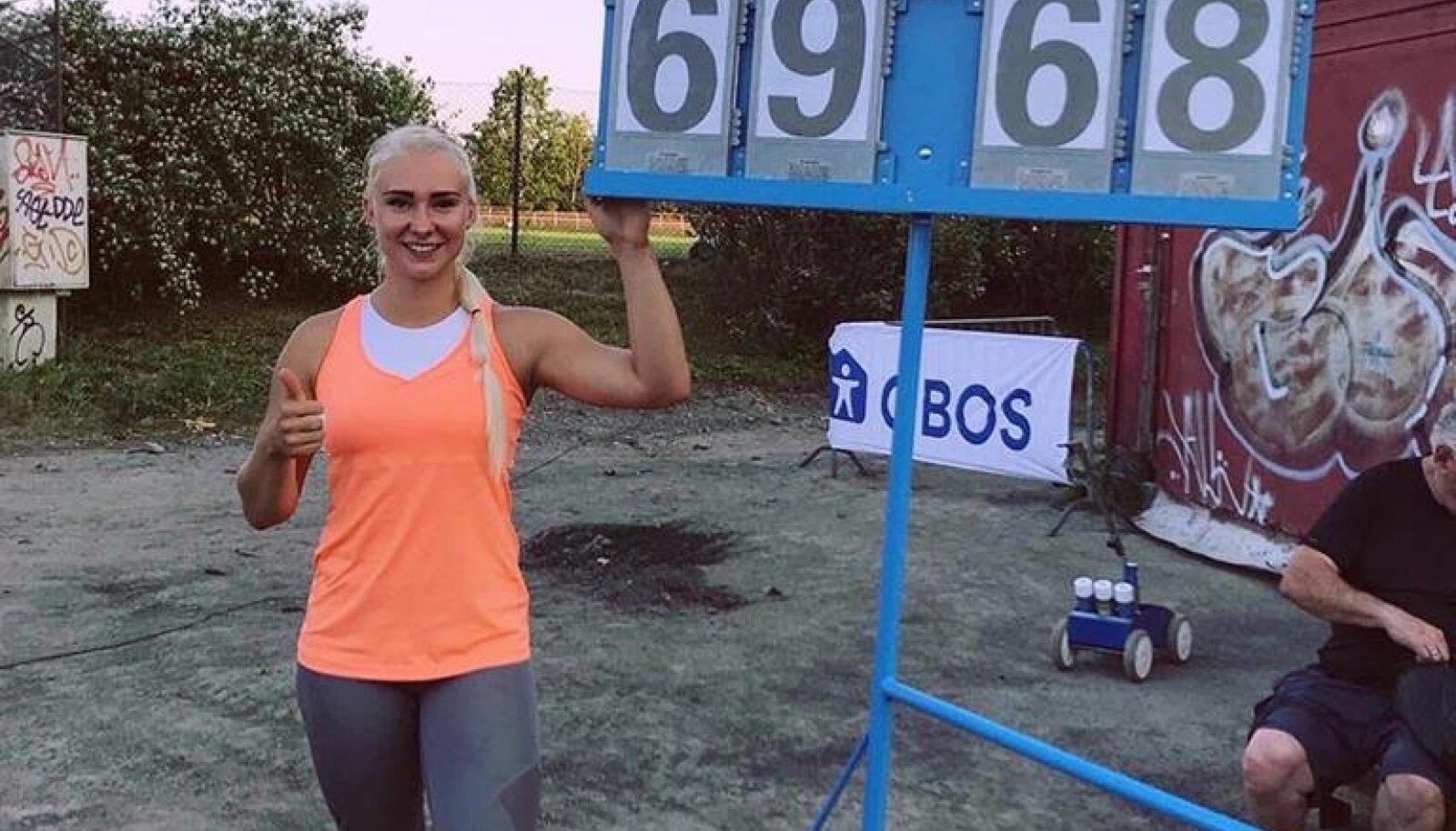 Anna Maria Orel tabas mitu kärbest ühe hoobiga: võit, rekord, EM-norm.