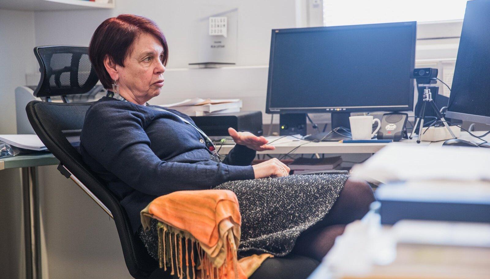 Irja Lutsar märkis, et põhjanaabritel on just hiljuti seatud eesmärk käegakatsutav.