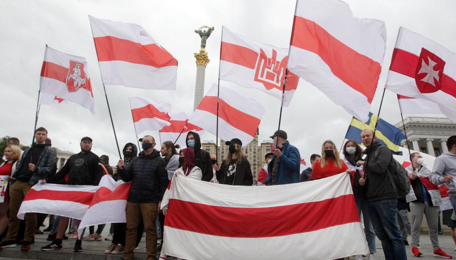 Lukašenka vastane protest Kiievis