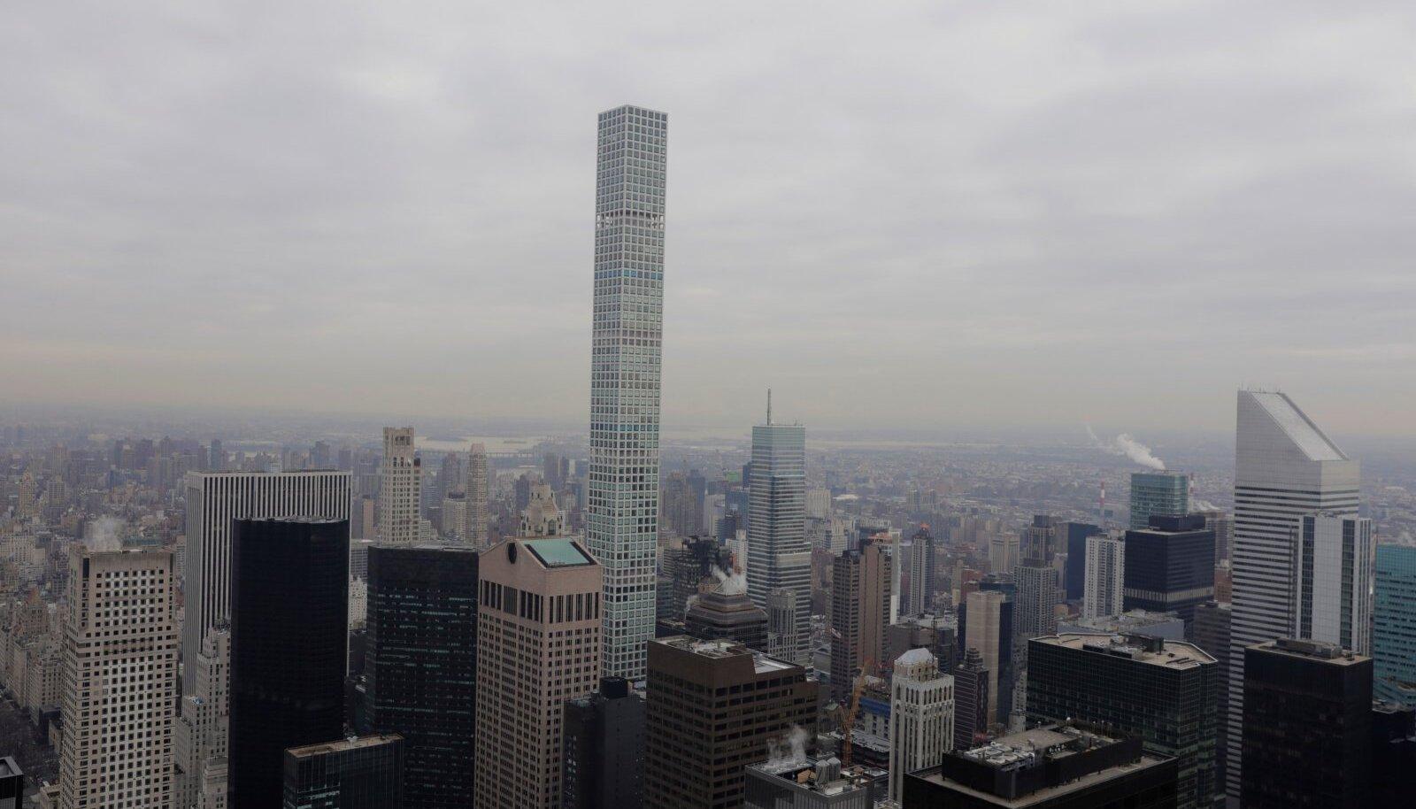432 Park Avenue pilvelõhkuja Manhattanil