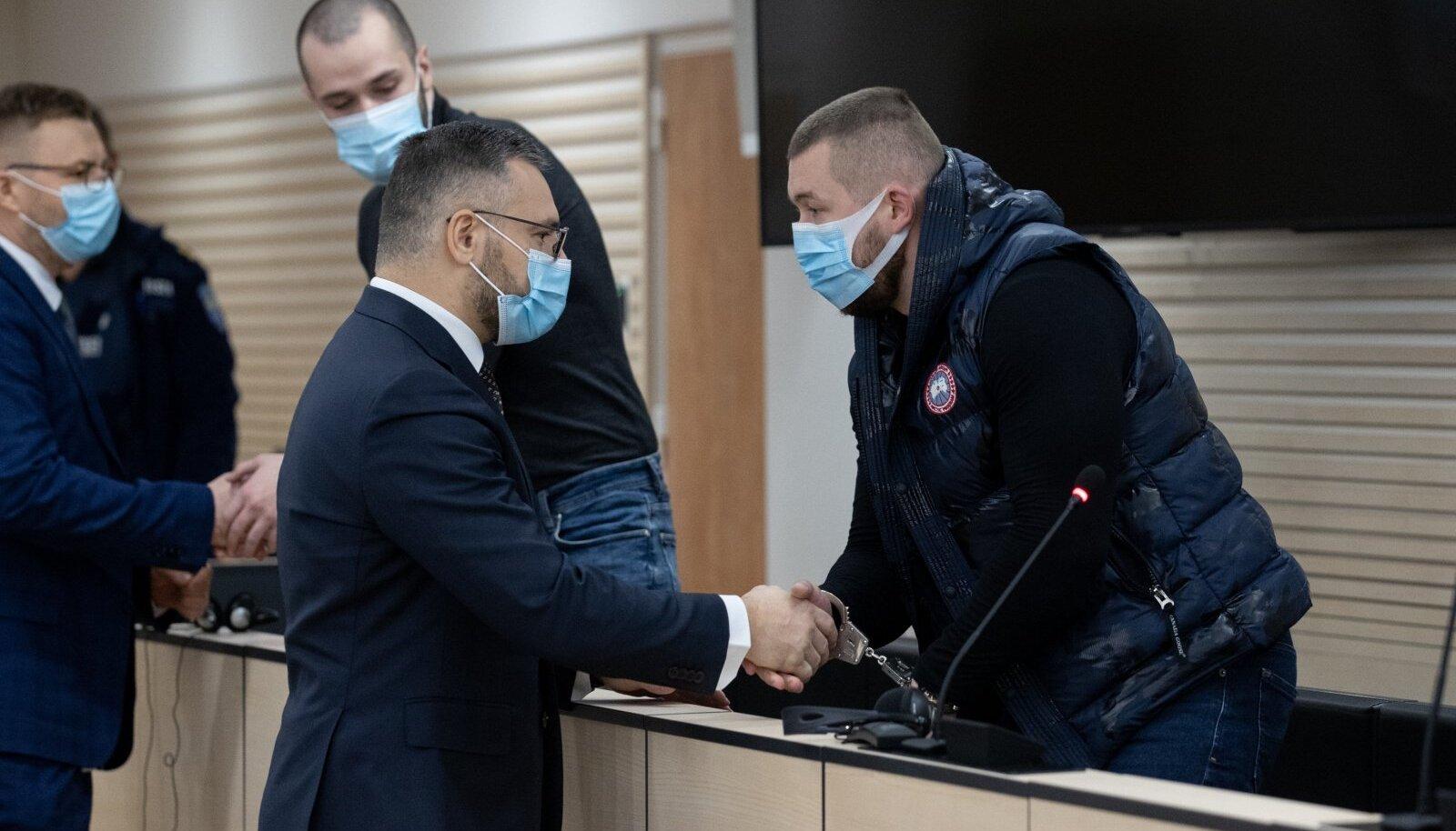 Isa Khalilovi ja Vjatšeslav Kalašnikovi kohtuistung Harju maakohtus