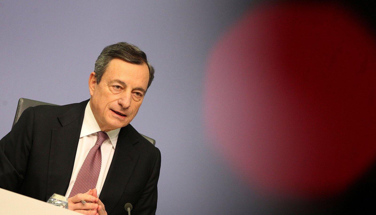 Euroopa Keskpanga juht Mario Draghi