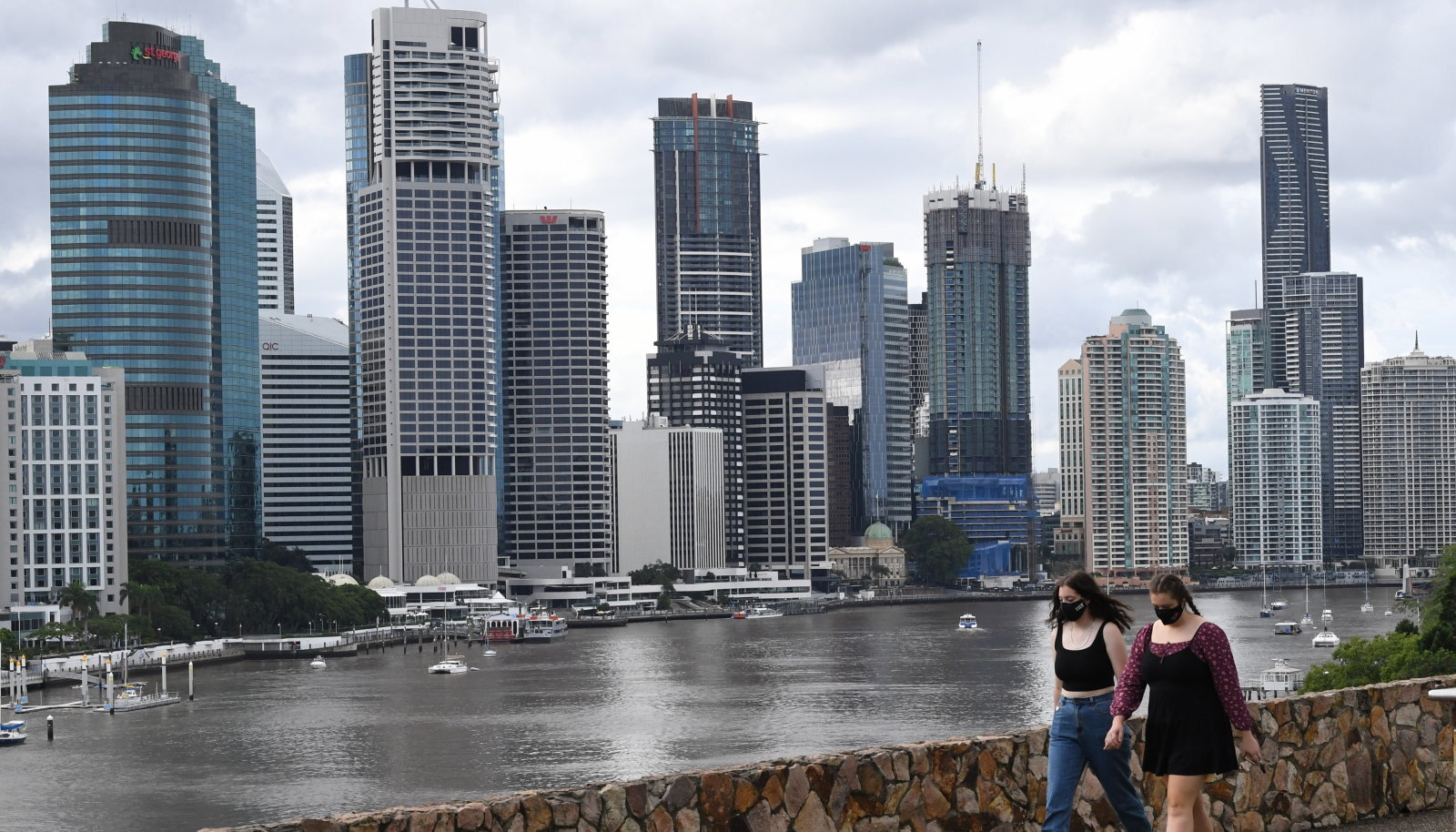 Brisbane'i kõrghooned.