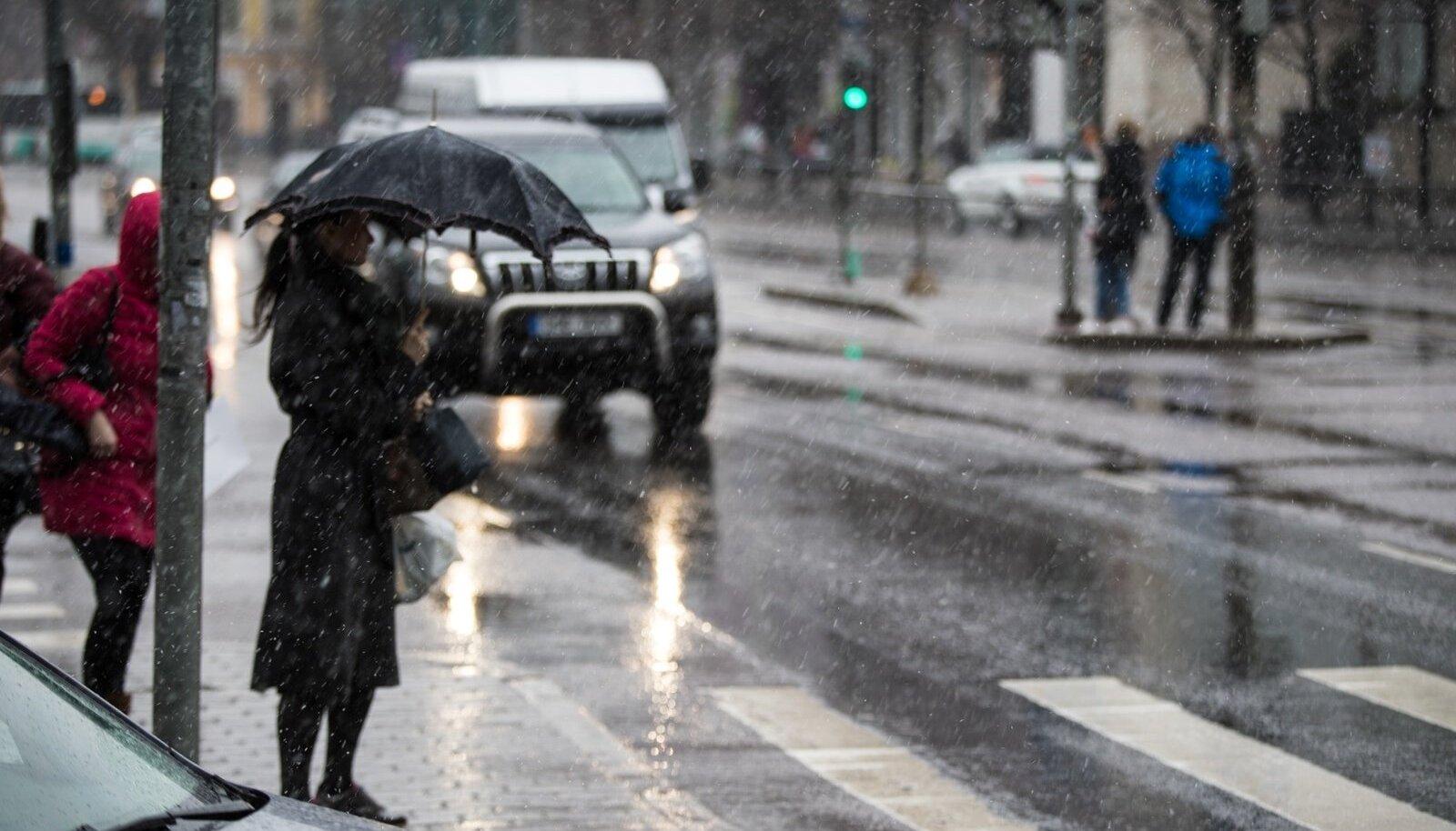 Ettevaatust, lähipäevade ilm on jahe ja vesine!