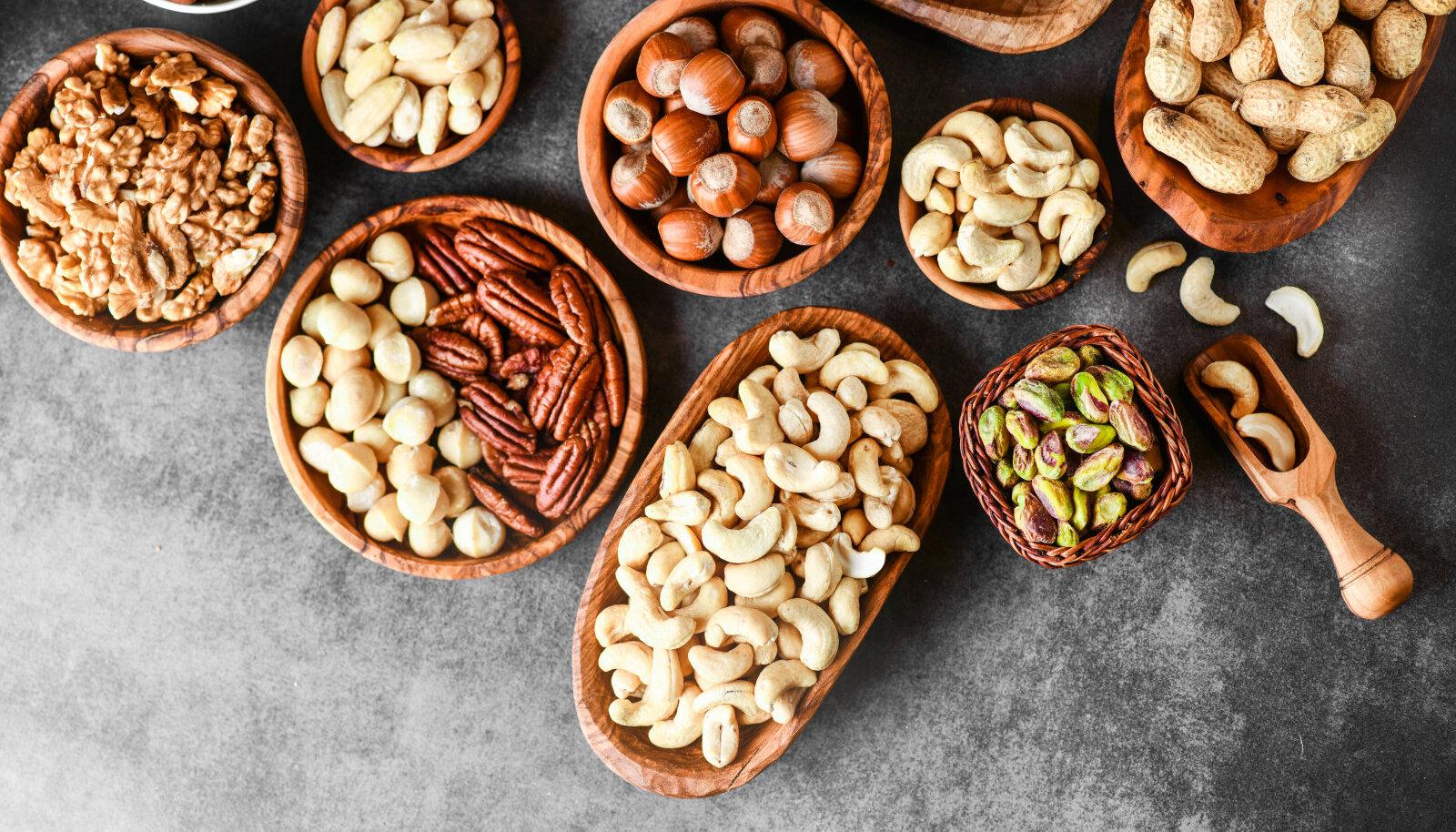 Kuidas pähklitest maksimumi võtta?