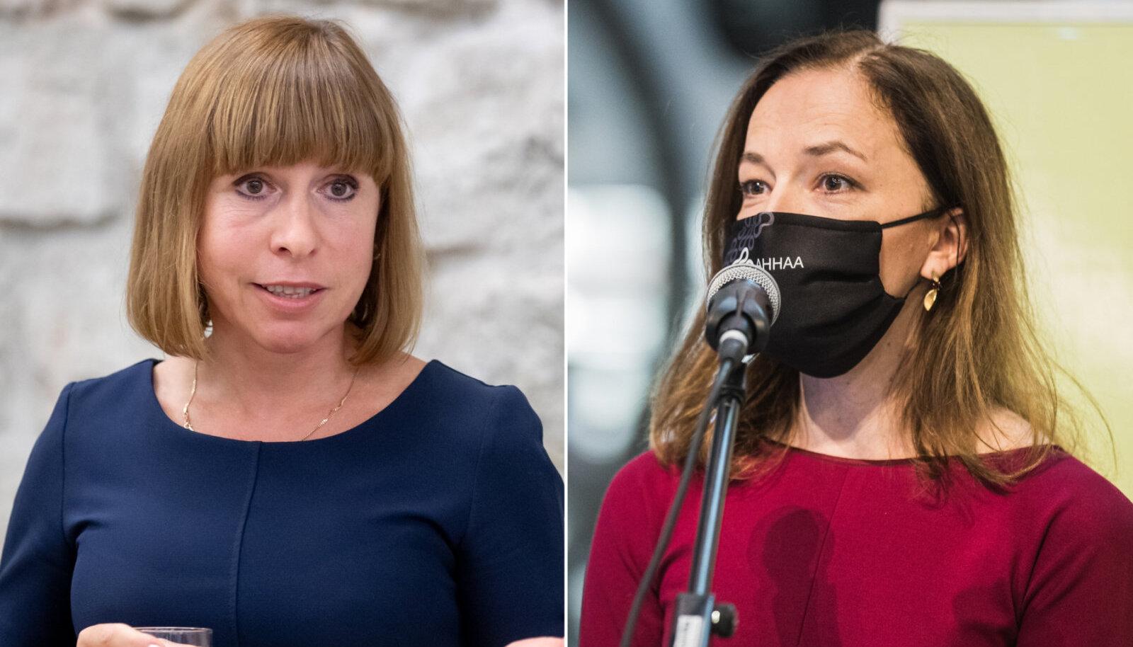 Ulla Illison ja Liina Kersna