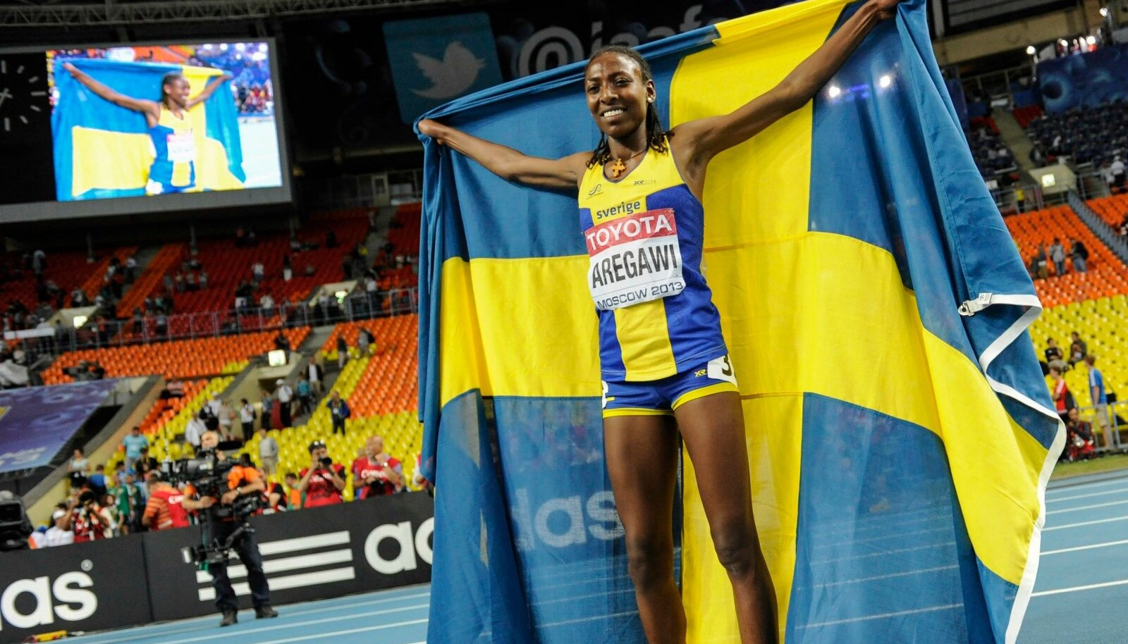AREGAWI 1500M TRACK AND FIELD GOLD
