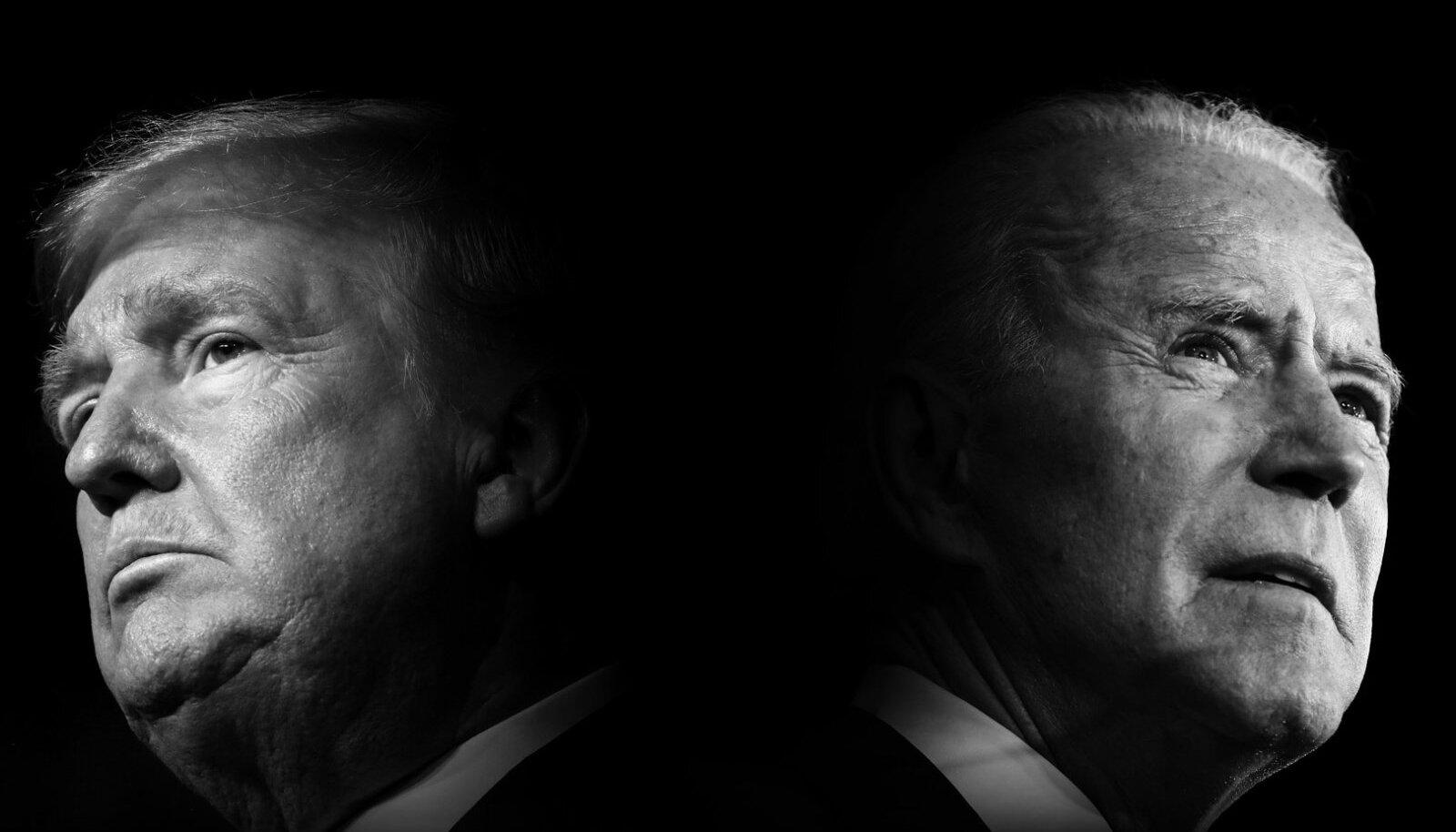 "Kaader filmist ""Valik 2020 – Trump versus Biden""."