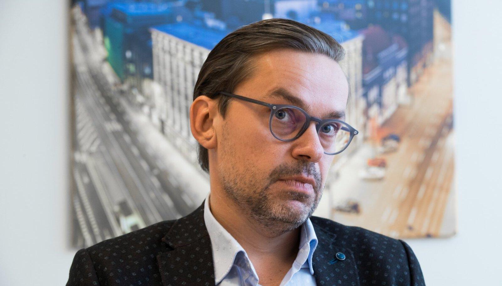 EfTEN Real Estate Fund III fondijuht Viljar Arakas.