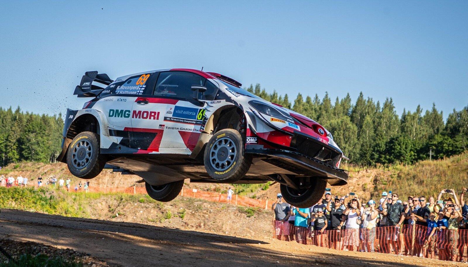 Rally Estonia 2021 SS10 ja SS12