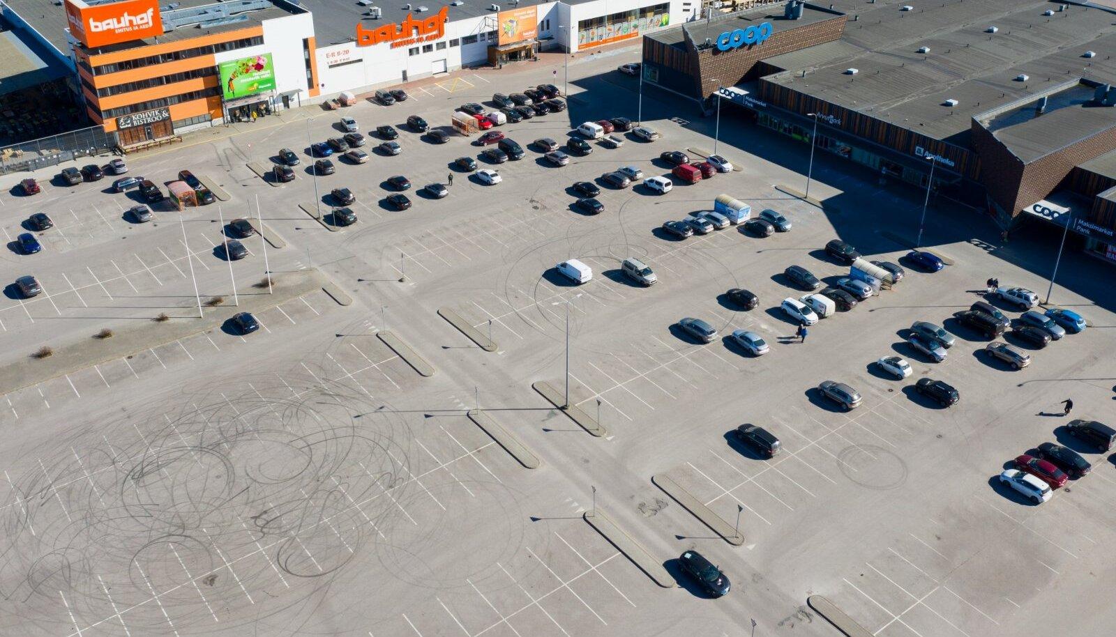 Tallinna kaubanduskeskused.