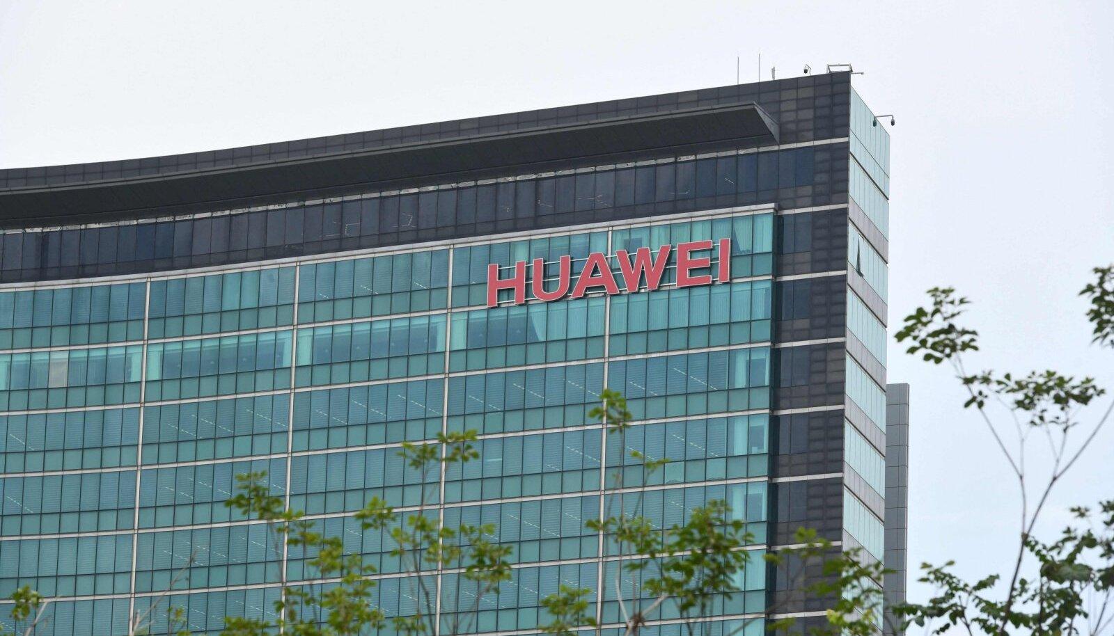 Huawei peakorter Shenzhenis