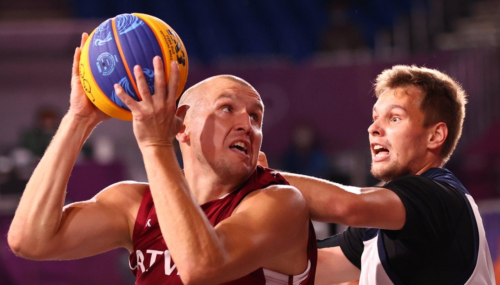 Kaks hooaega Valgas mänginud Edgars Kruminš kuulub koos Läti koondisega 3x3 korvpalli maailma tippu.