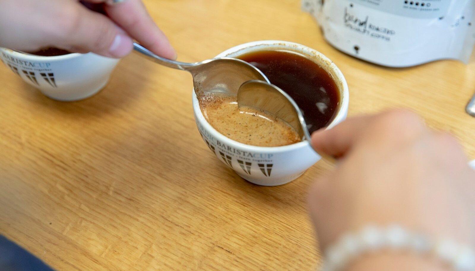 Coffee People röstikoda, degusteerimine