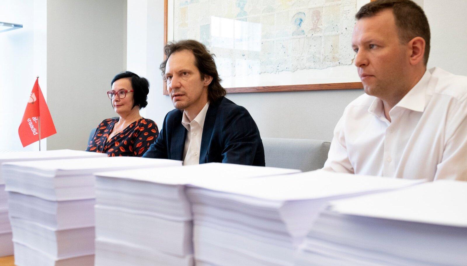 SDE fraktsioon lubab teha 50 000 parandusettepanekut