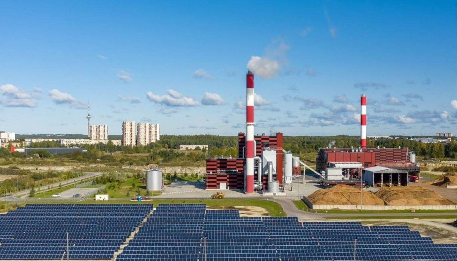 Utilitase soojuse ja elektri koostootmisjaamad ja päikesepark Tallinnas, Väos.