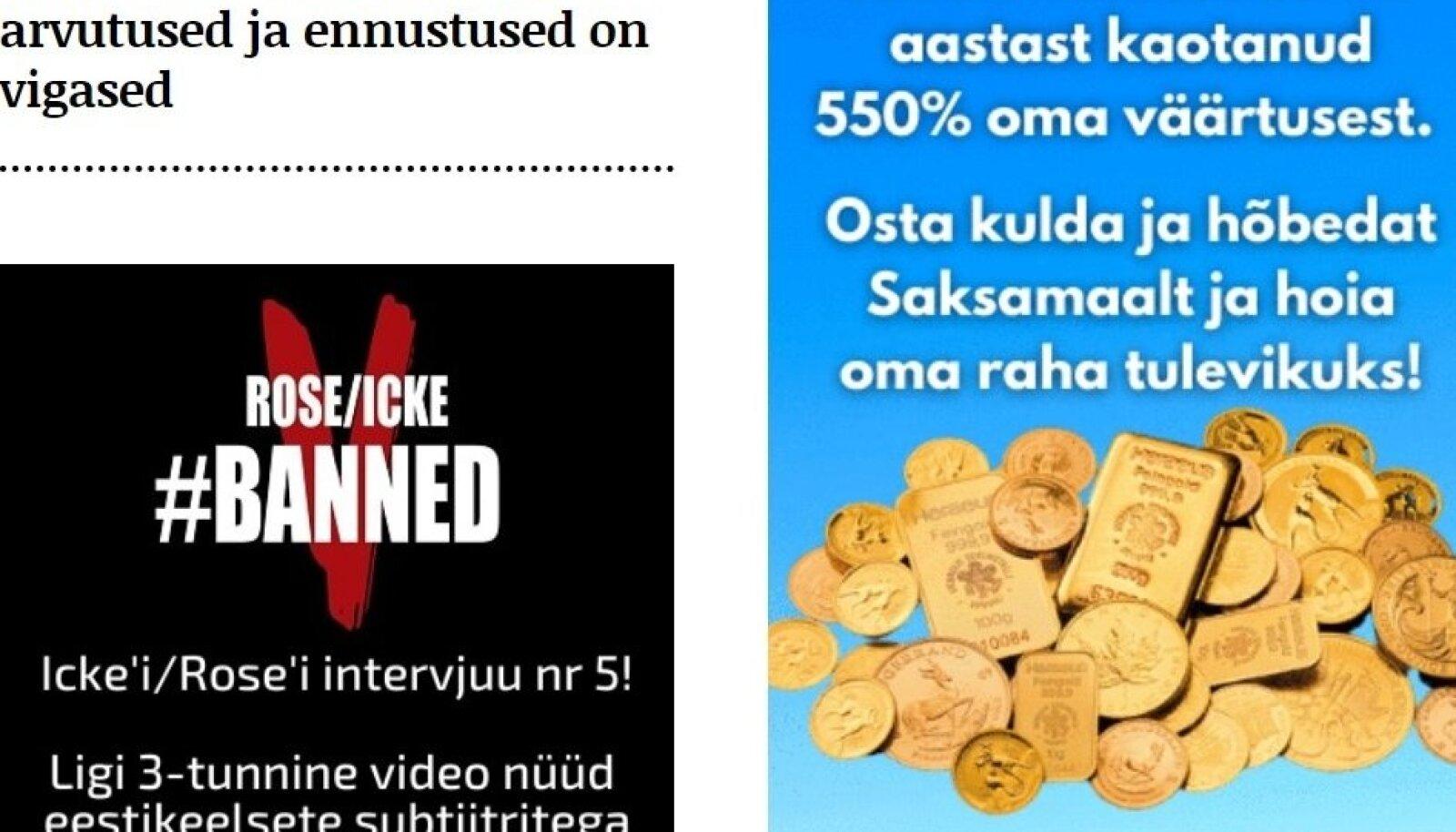 OSTA! Kulda investeerima kutsuva reklaami Telegrami kodulehel on ostnud Edelmetallkasse.