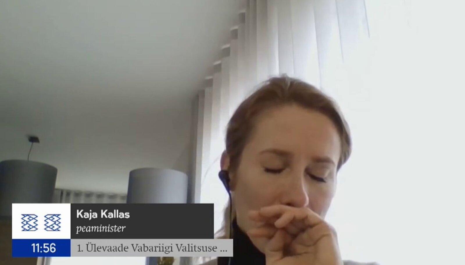 Kaja Kallas on nakatunud koroonaviirusega.