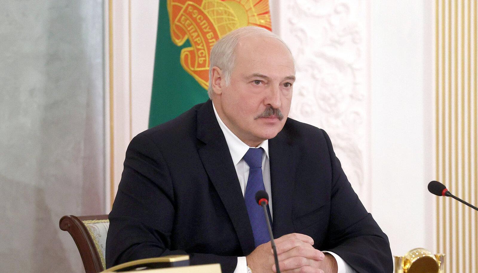 Valgevene riigipea Aleksandr Łukašenka.
