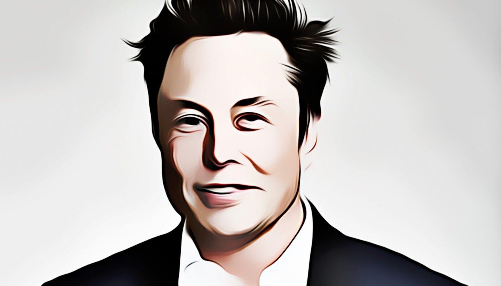 Elon Musk vahelduseks veidi stiliseeritud kujul (Foto: Pixabay / Iván Jesus Rojas)