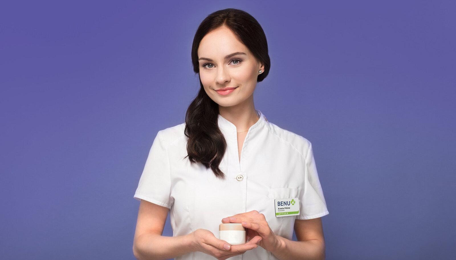 Benu apteekide kosmeetikakonsultant Kreete Põlme