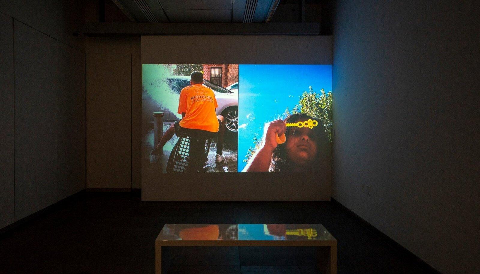 Terttu Uibopuu ja Alex Camilleri töö Austria kulturifoorumis