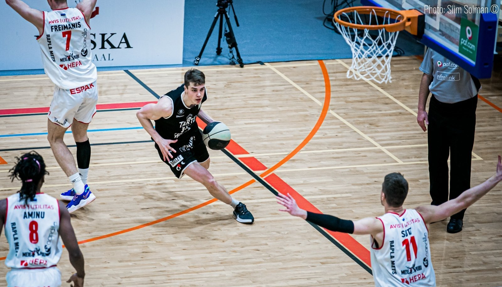 Tartu Ülikooli üks liidreid Robin Kivi on end Rapla kaitsest mööda mänginud.