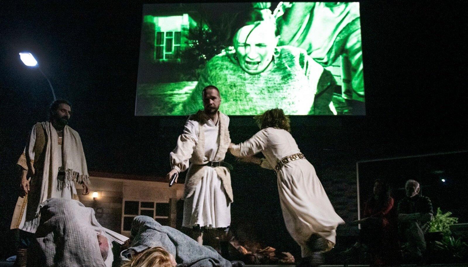 """""""Orestes Mosulis"""", lavastaja Milo Rau, esietendus 17. mail 2019."""