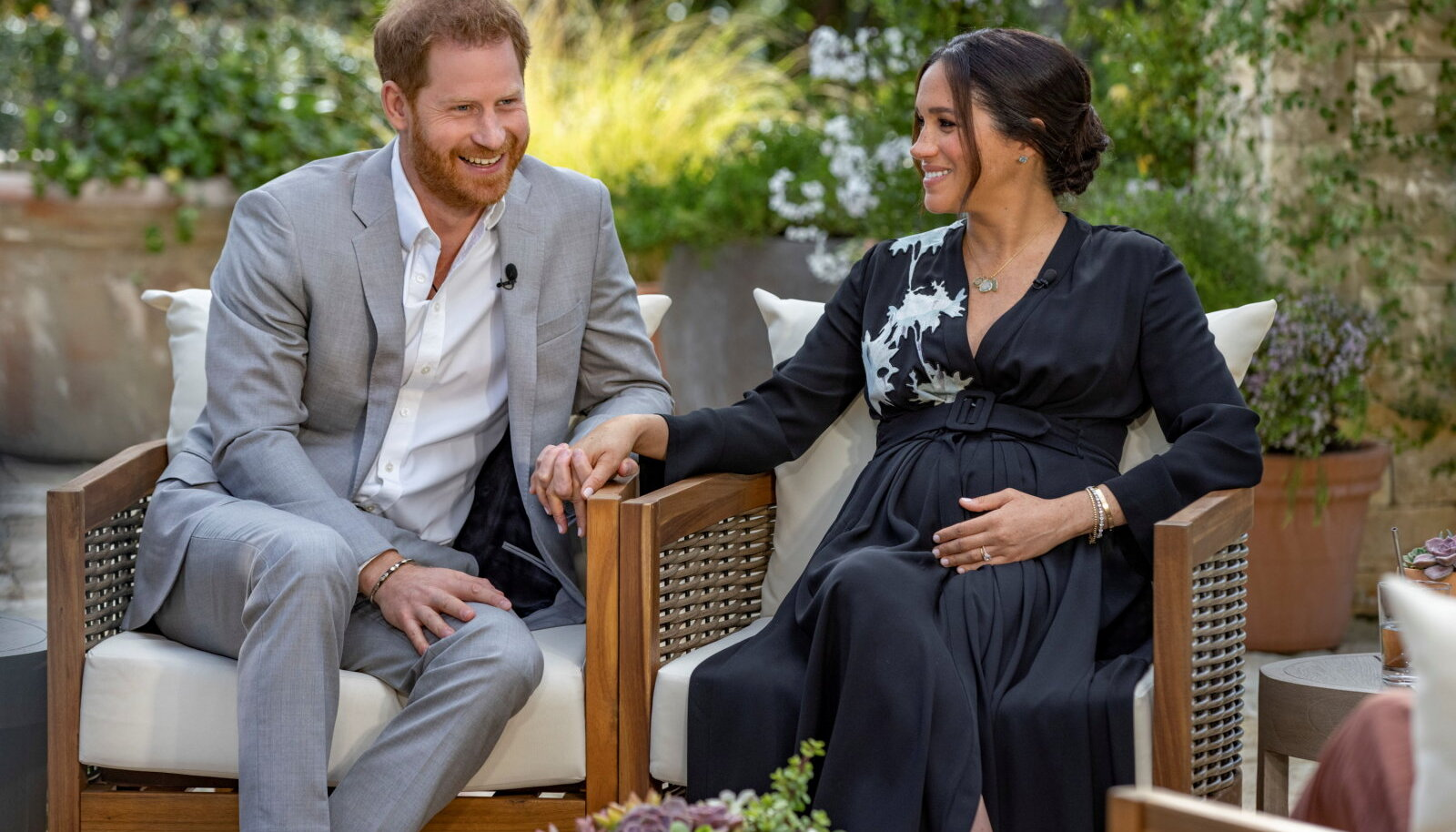 Prints Harry and hertsoginna Meghan Oprhah Winfreyl'le intervjuud andmas