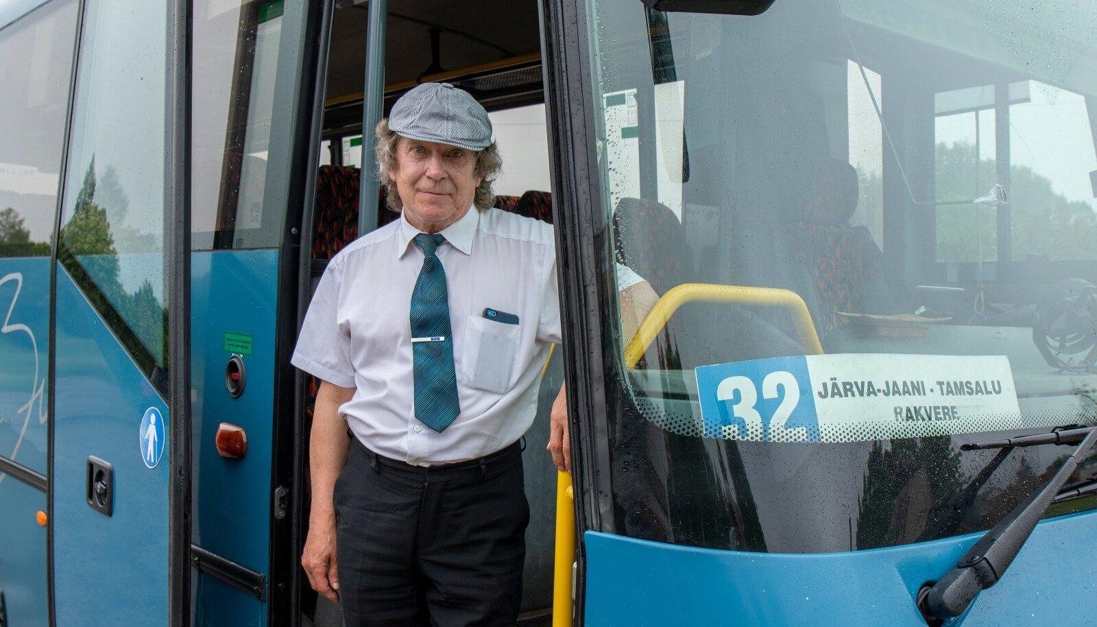 Bussijuht. Pilt on illustratiivne.