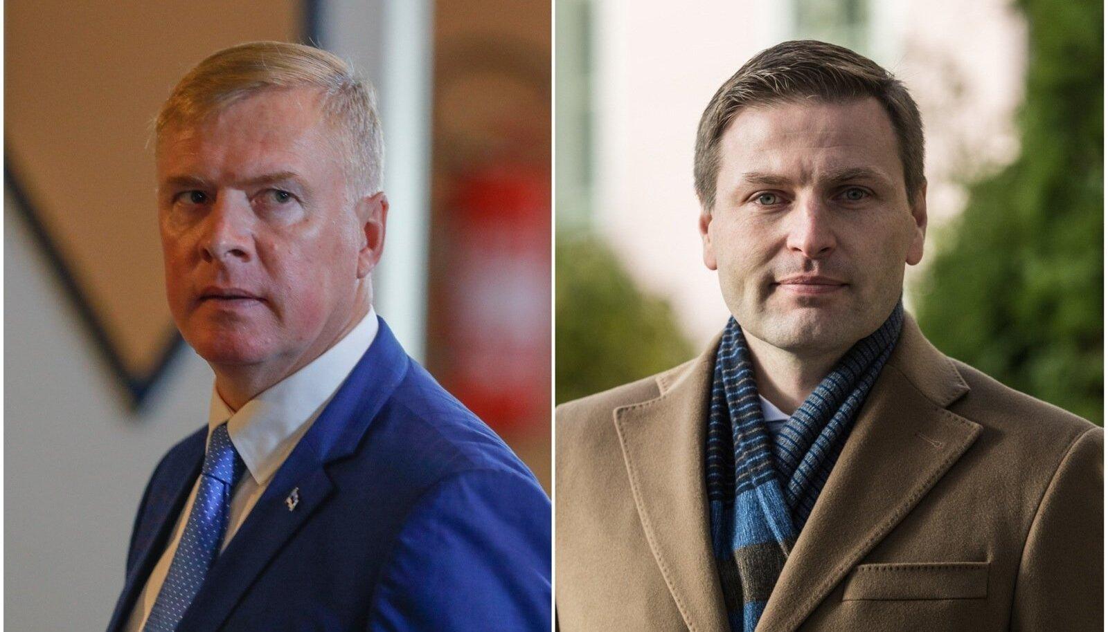 Kalle Laanet ja Hanno Pevkur
