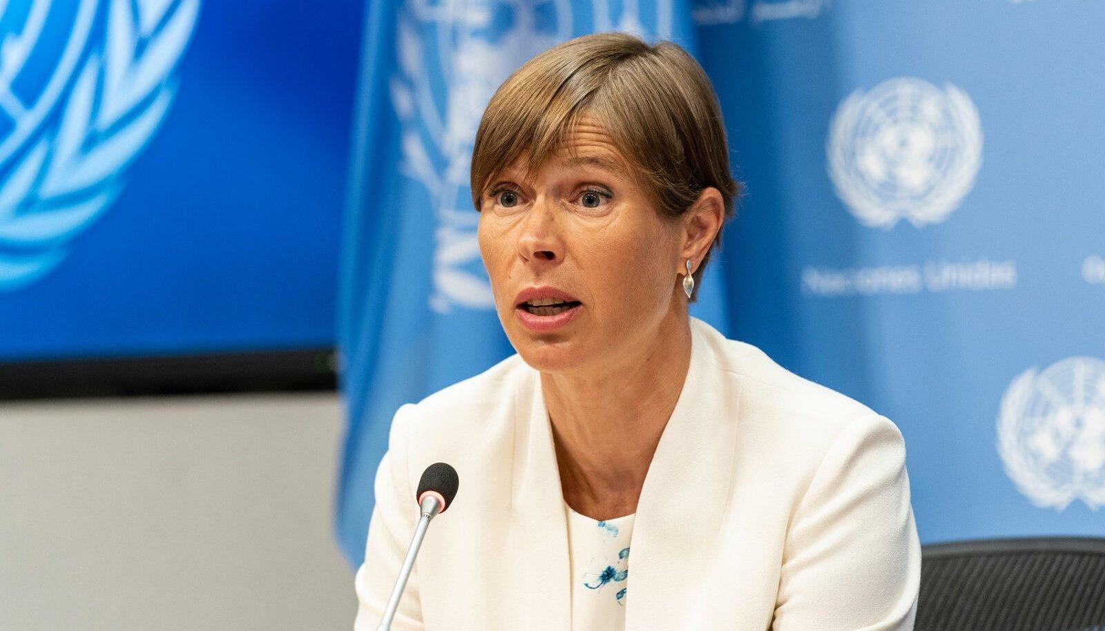 Üleeile ÜRO olulise ametiposti vastu võtnud Kersti Kaljulaid ütleb, et tema ametissemääramine on tunnustus kogu Eesti välispoliitikale ja diplomaatidele.