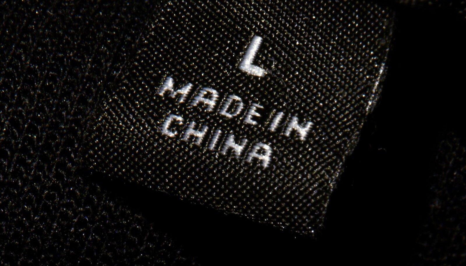 Hiinas toodetud