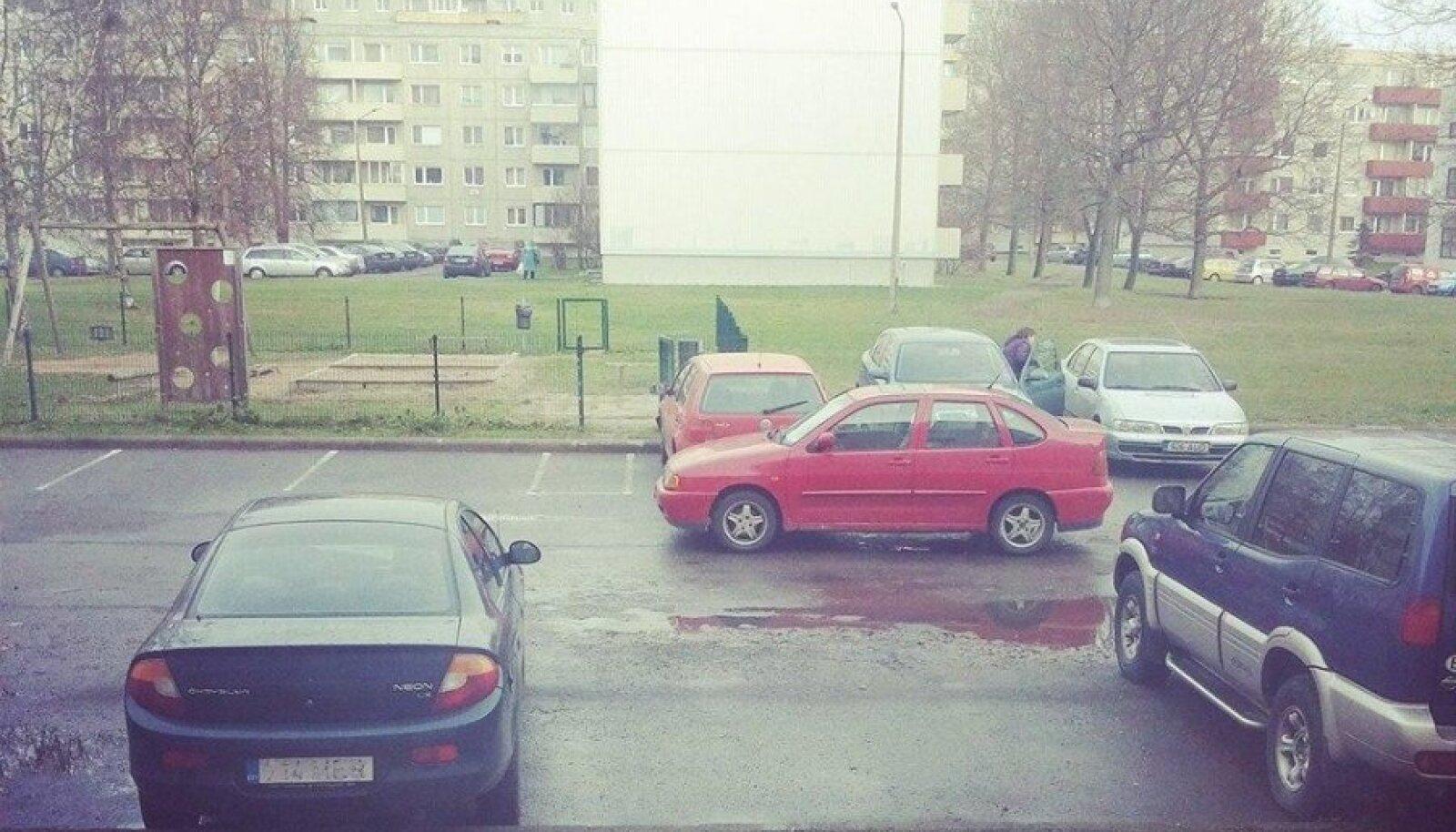 Parkimine Õismäel