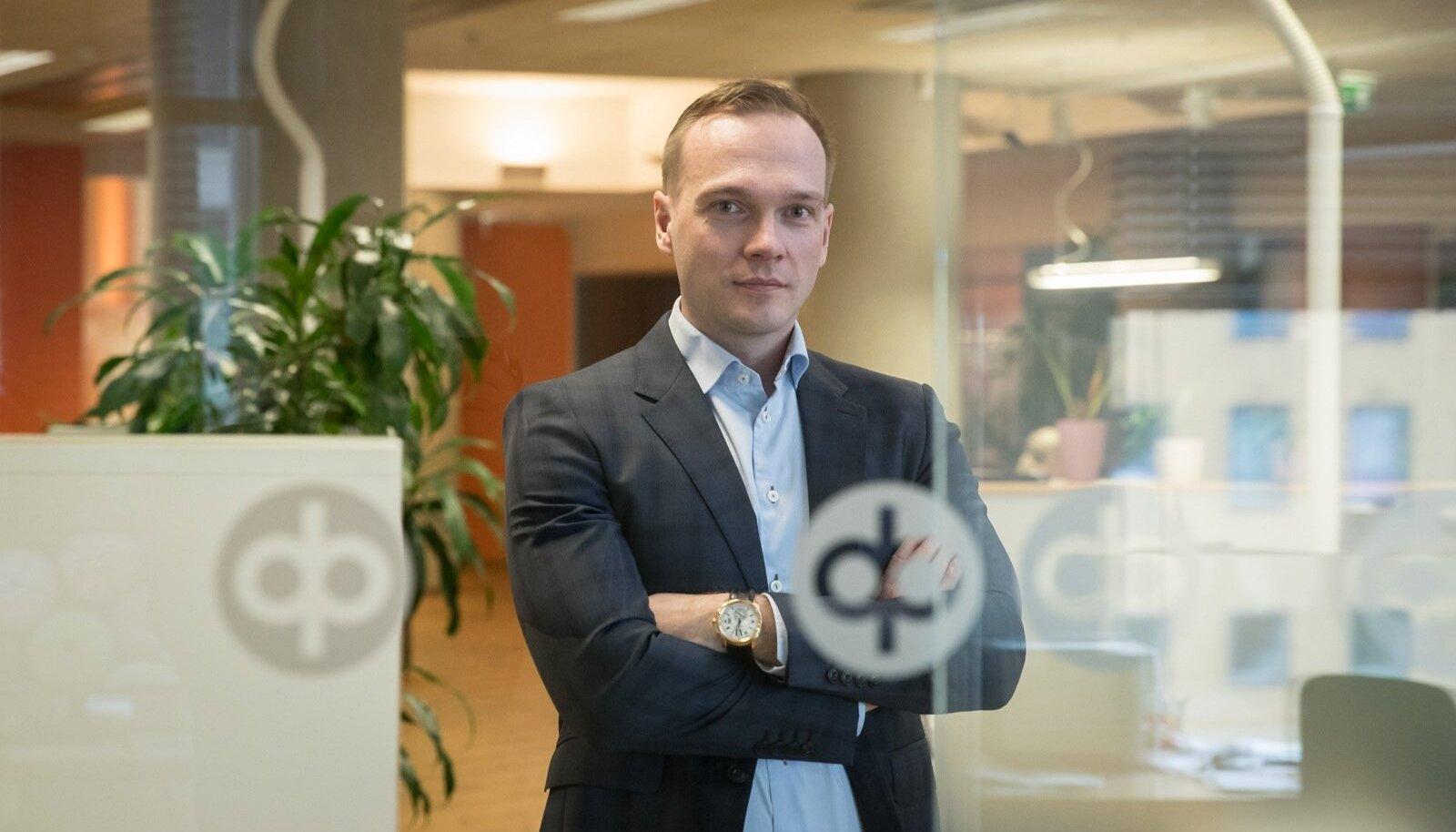OP panga Eesti filiaali juhataja Hannes Kaadu