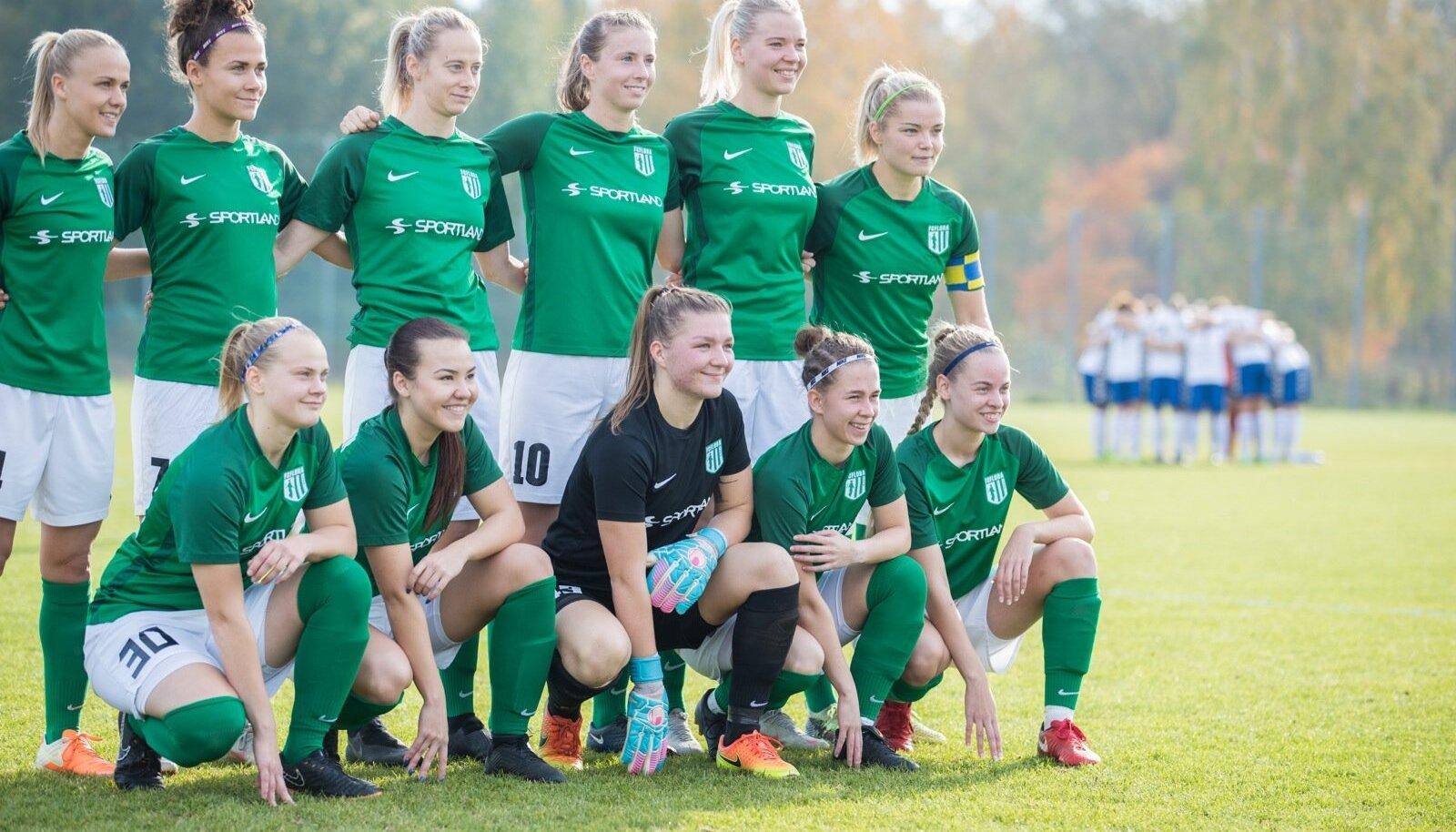 FC Flora naiskond.