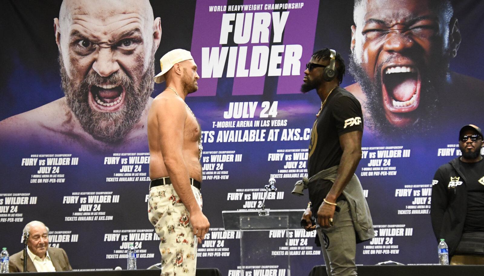 Tyson Fury ja Deontay Wilder