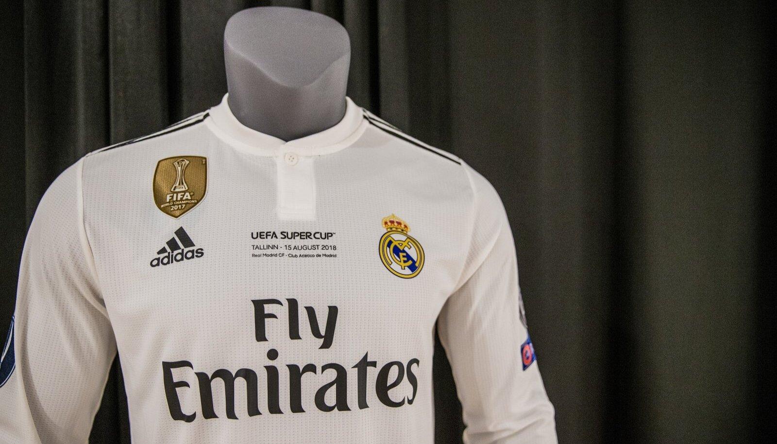 Madridi Reali särk Eesti spordimuuseumis.