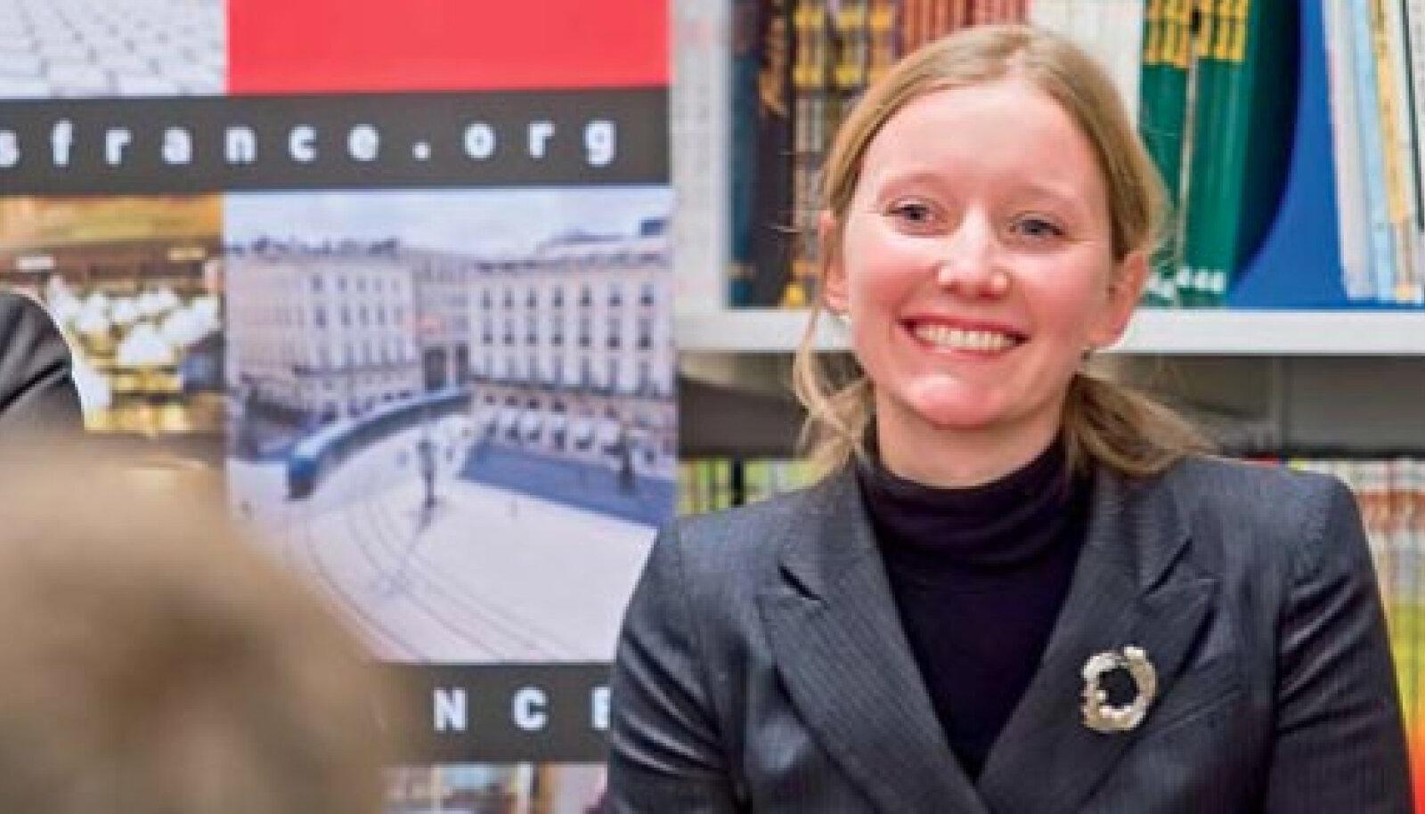 Katrina Kaldale tundub, et eesti keeles on tema romaan isegi lõbusam kui originaalis.