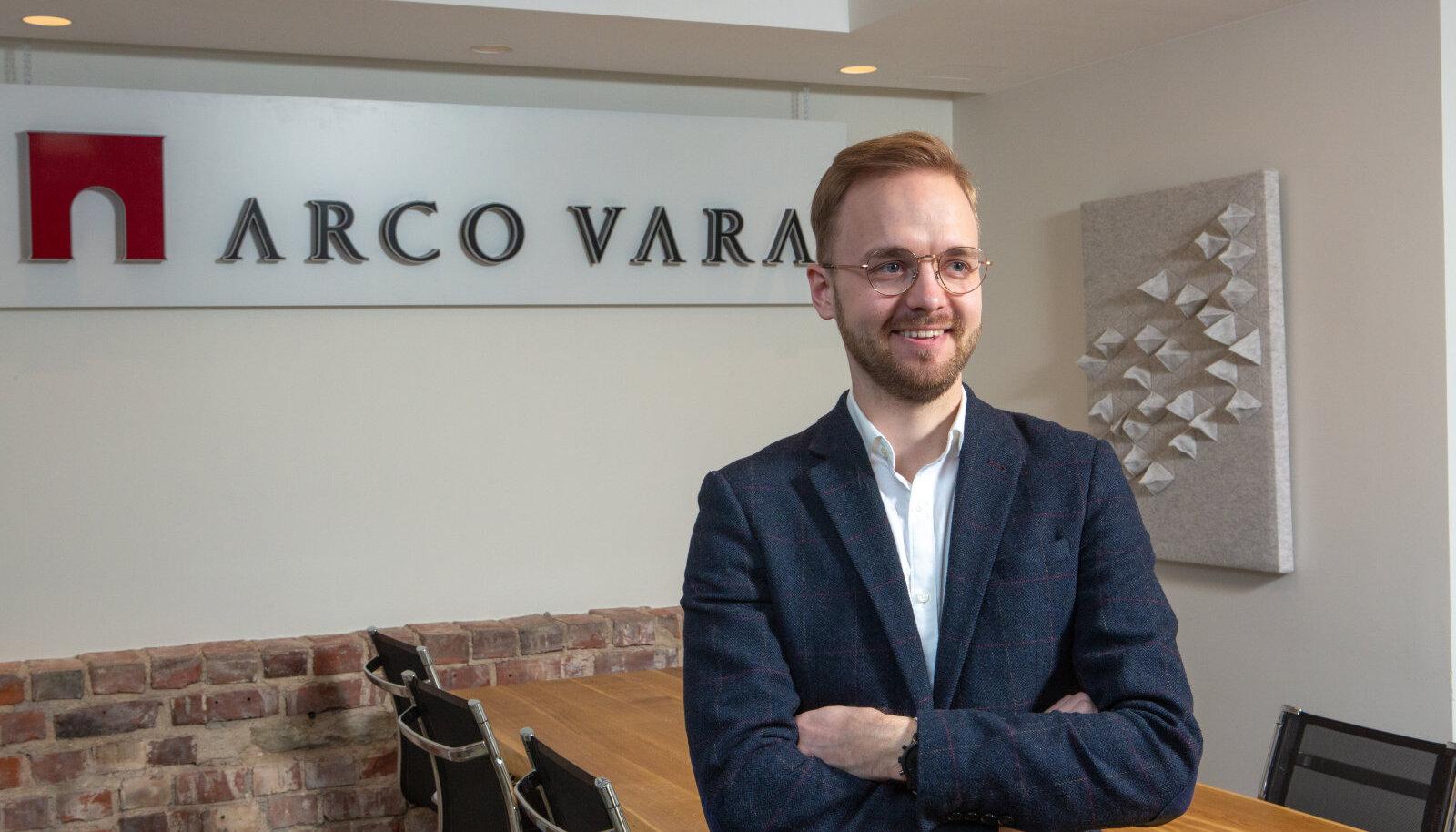 Arco Vara juhatuse liige Miko-Ove Niinemäe
