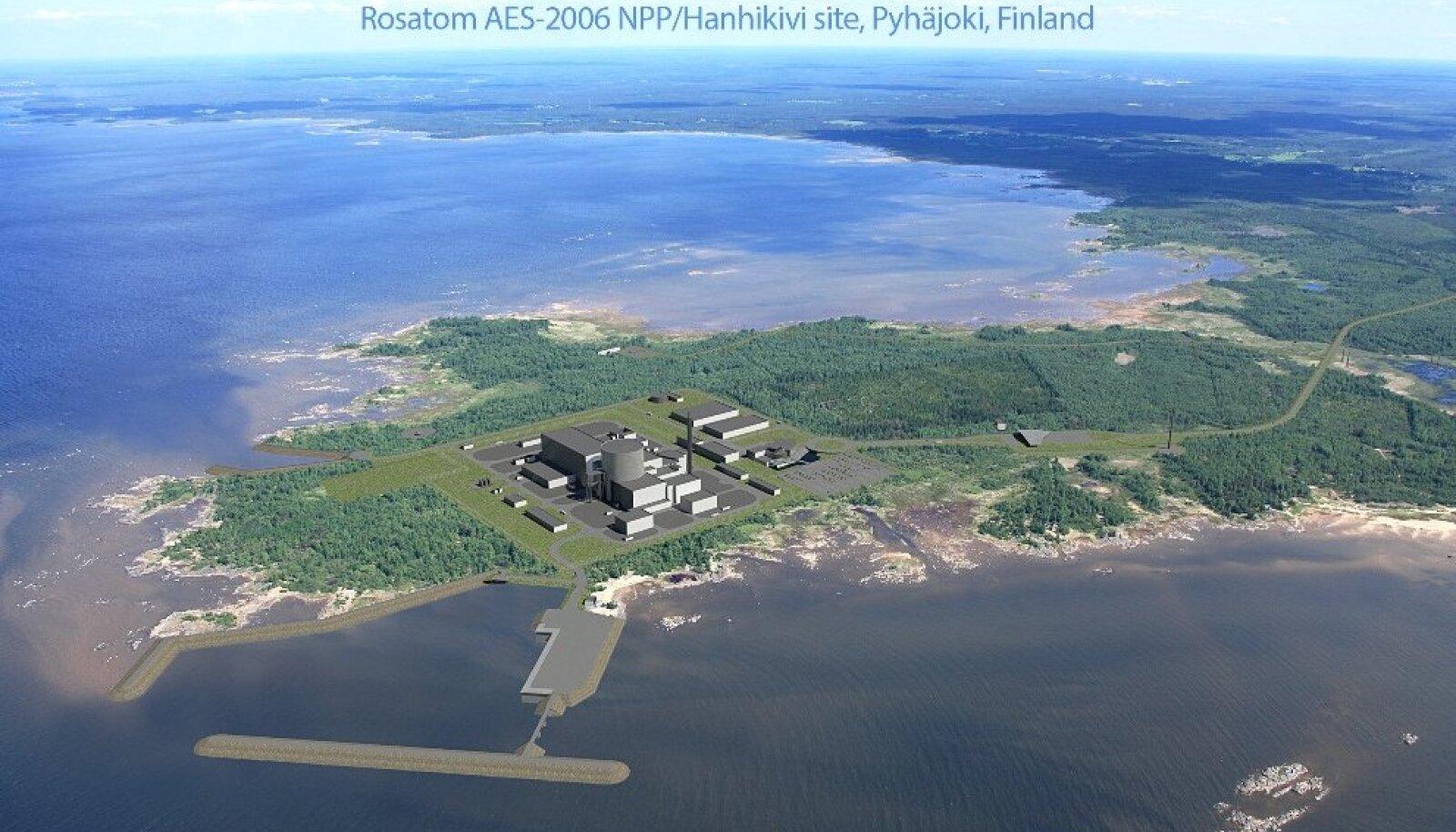 Hanhikivi 1 reaktori visand Fennovoimalt