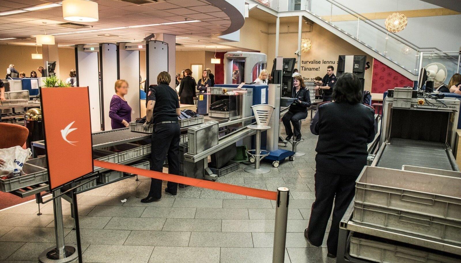 Lennujaama turvakontroll
