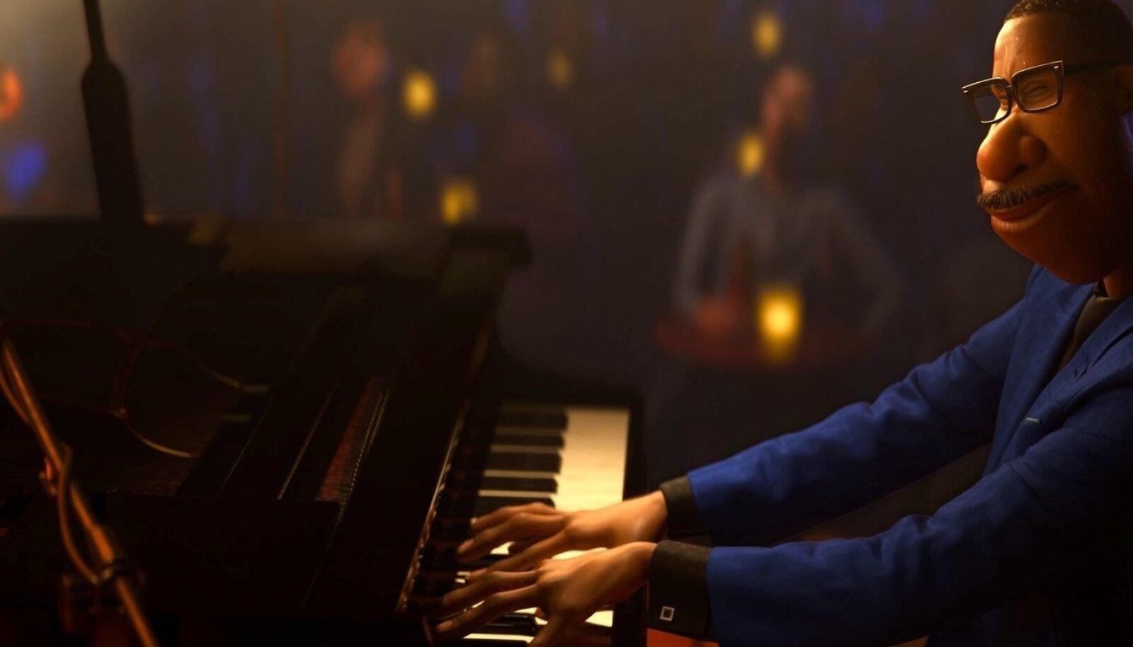 """PIXARI MEISTRITEOS: """"Hinge"""" peategelane on muusikaõpetaja Joe, kes saab võimaluse esineda linna parimas džässiklubis. Ootamatult satub mees peagi aga ühte hoopis teistsugusesse paika..."""