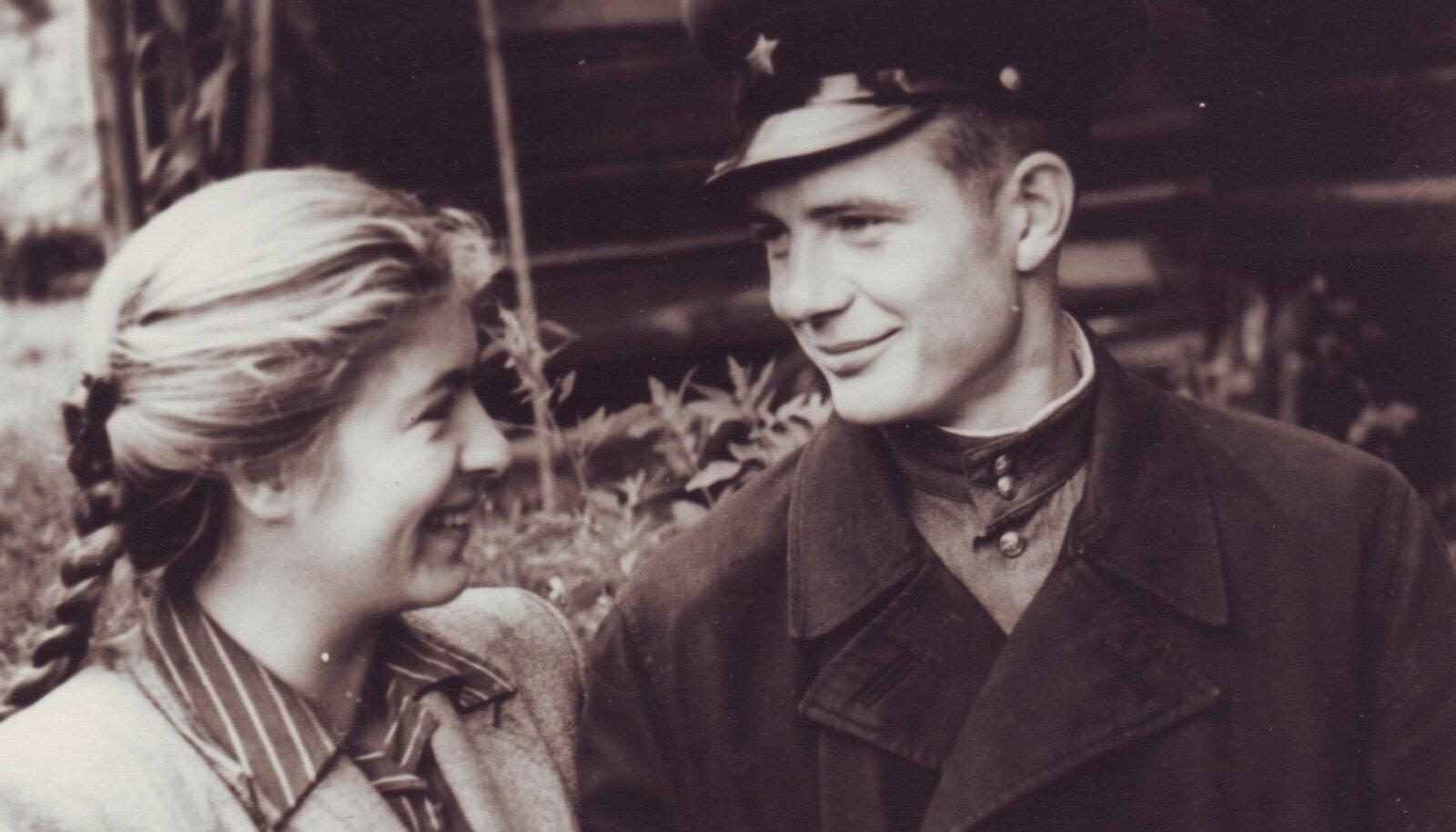 Õnnelik Tamara koos abikaasa Leonid Kondakoviga.